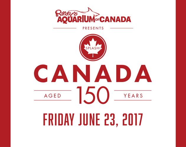 Celebrate Canada 150 At Ripleys Aquarium Of Canada In Toronto