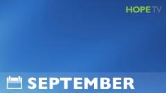 HopeTV Events - September
