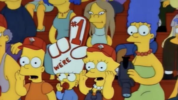 The Simpsons - Baseball