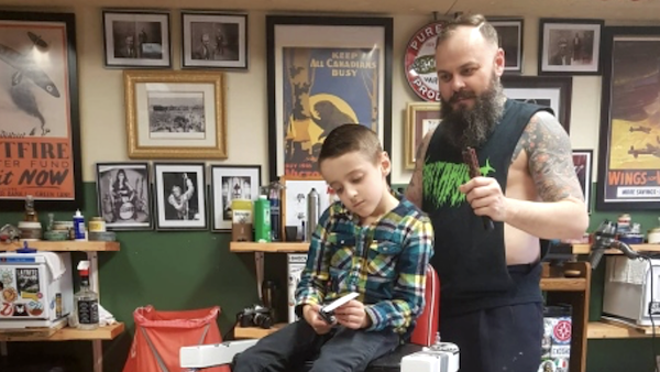 Barber - Autism - Joy Factor
