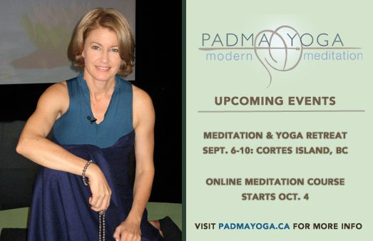 Padma Yoga - Upcoming Events - Sept/Oct 2017