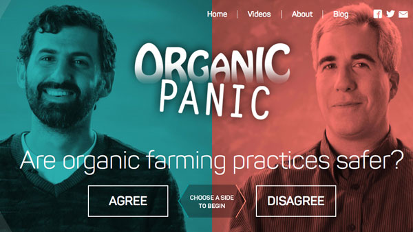 Organic Panic Official Website: OrganicPanicTV.com