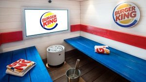 One Take: Get Sweaty in this Whopper of a Burger King Sauna