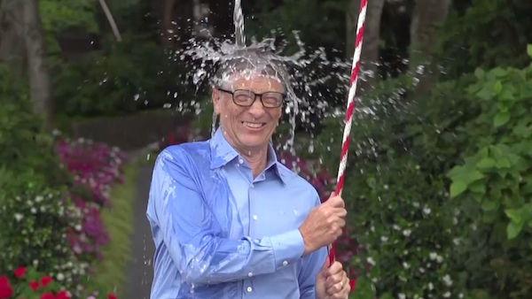 Bill Gates - Ice Bucket - ALS