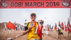 One Take: This Man Ran a Marathon & Made a Four-Legged Friend