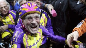 105-Year-Old French Cyclist Sets Remarkable Riding Record