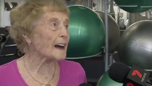 This 94-Year-Old Great Grandmother is One Heck of a Gym Junkie!