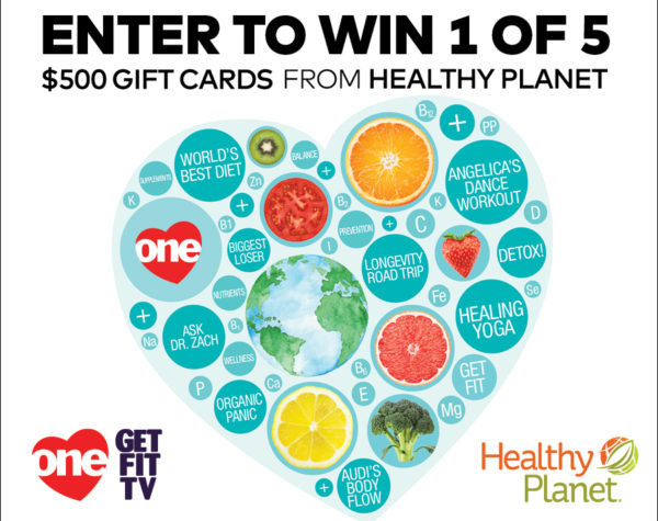 Live Life Healthy with ONE Contest - Healthy Planet