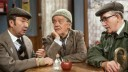 Last of the Summer Wine S6: (l-r) Peter Sallis as Clegg, Bill Owen as Compo, Brian Wilde as Foggy Photo: (c) BBC 1981