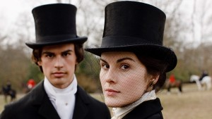 Downton Abbey S1E3: Mary Crawley (MICHELLE DOCKERY), Kamal Pamuk (THEO JAMES)