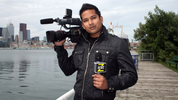 ZNews Videographer and Host Darrin Maharaj