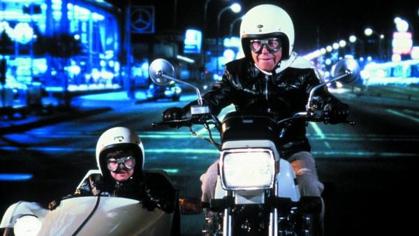 """Louanne and George Burns star in """"Oh, God! Book II"""""""