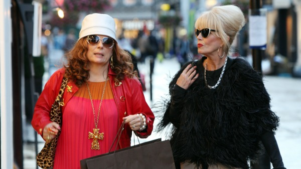 Absolutely Fabulous 20th Anniversary Specials - Jennifer Saunders as Edina and Joanna Lumley as Patsy