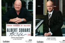 EastEnders Swag: Steve MCFadden and Jake Wood Photo Cards