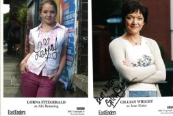 EastEnders Swag: Lorna Fitzgerald and Gillian Wright Photo Cards