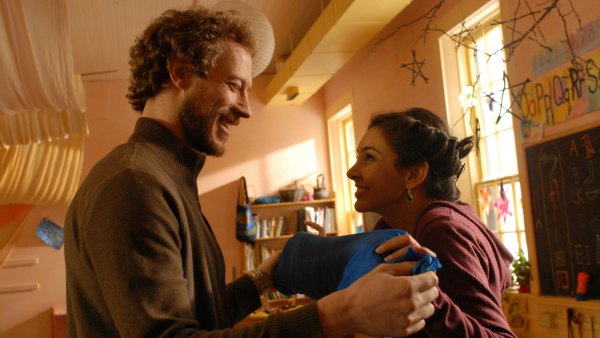 """Kris Holden-Reid stars as Jack and Lisa Ray stars as Lia in """"A Stone's Throw"""""""