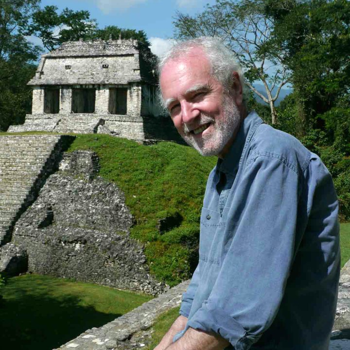 AW: Series Host/Writer Brian Paisley at Mayan Ruins of Palenque