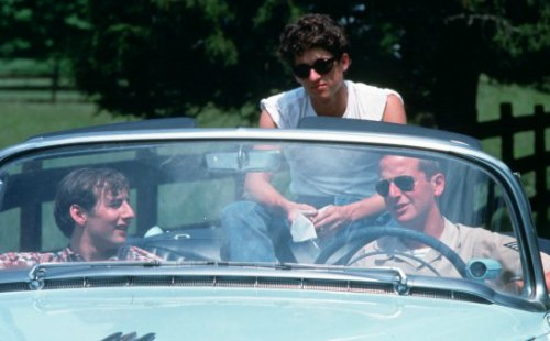 "Arye Gross, Patrick Dempsey and Daniel Stern star in ""Coupe de Ville"""
