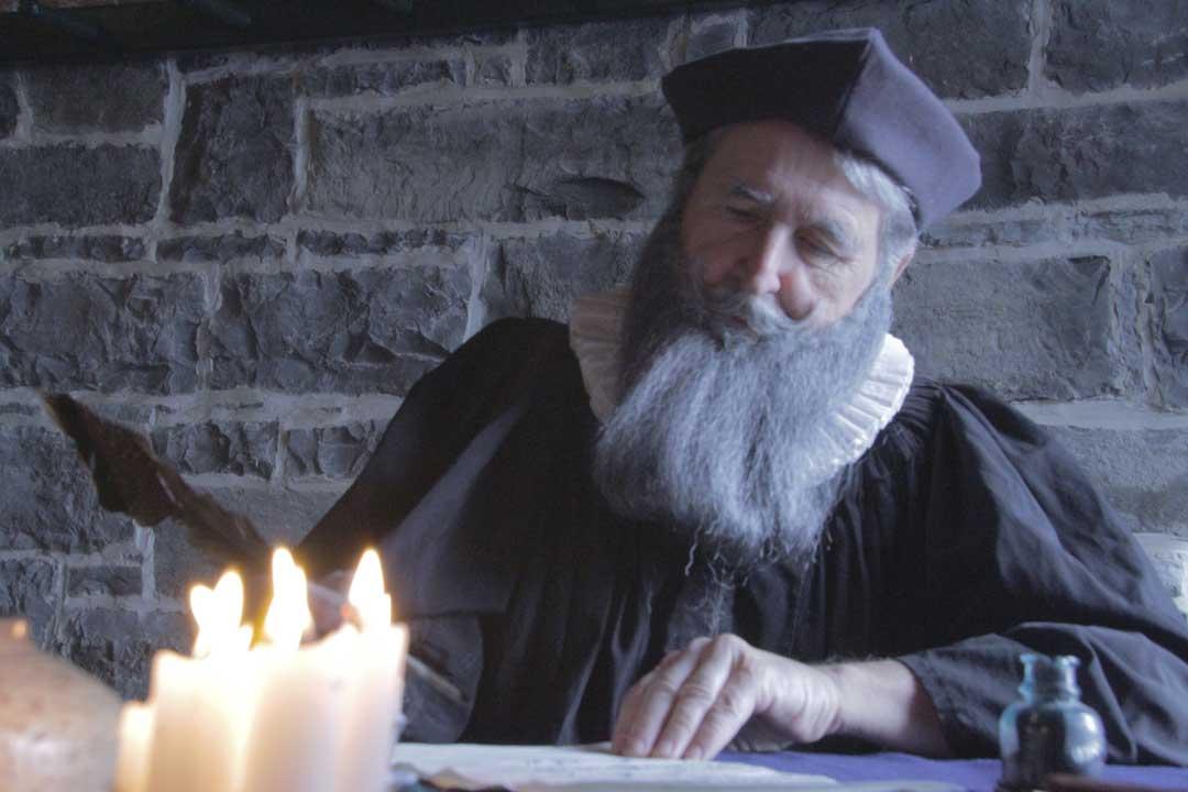IP: Nostradamus - Producer David Brady in the role of Nostradamus