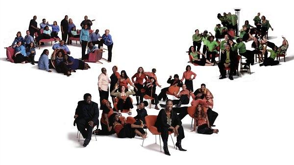 Gospel Challenge - all three choirs
