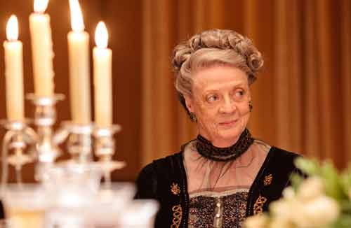 Downton Abbey S2: Violet, The Dowager Countess of Grantham (Dame Maggie Smith)