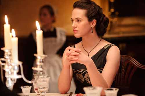 Downton Abbey S2: Lady Sybil Crawley (Jessica Brown Findlay)