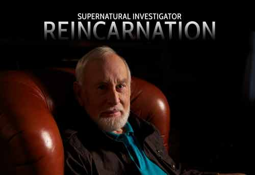 SI: Reincarnation - Investigator Tom Harpur with episode title
