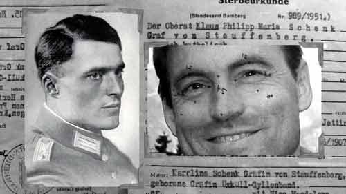 SI: Reincarnation - von Stauffenberg comparison