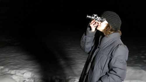 SI: Alien Agenda - Investigator Kristy O' Leary using night vision