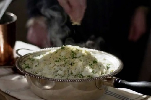 Weekly Downton Dish: Kedgeree Photo (c) ITV