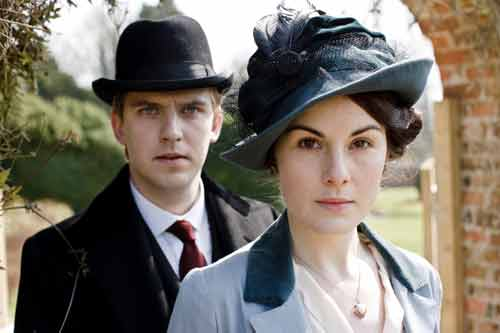Downton Abbey S1E3: Matthew and Lady Mary