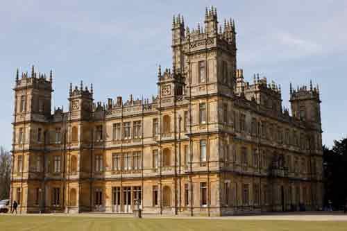 Downton Abbey's Highclere Castle - Exterior