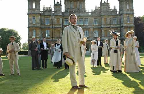 Downton Abbey S1E7: Lord Grantham announces that The Great War has begun