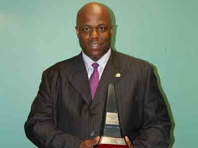 David Mitchell, correctional officer and founder of the Association of Black Law Enforcers - 2012 ACAA for Excellence in Law