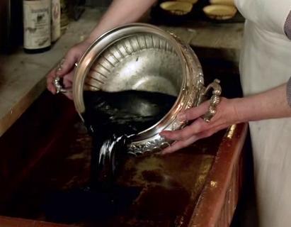 Downton Abbey S2E2: Branson's soup for General Stutt
