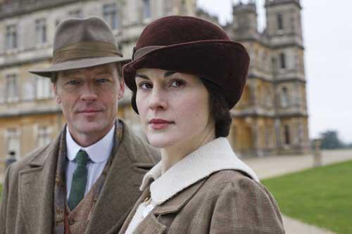 Downton Abbey S2E2: Lady Mary and her new love interest Sir Richard Carlisle (iann Glen)