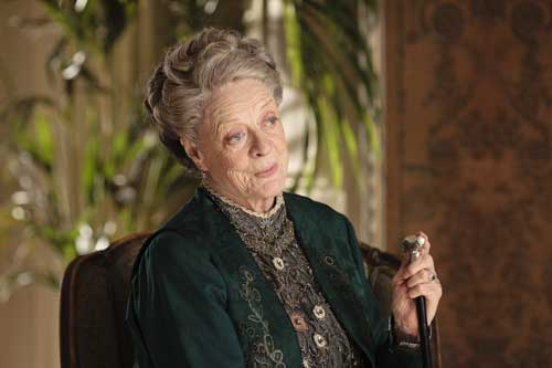 Downton Abbey S2E2: The Dowager Countess objects to Downton becoming a convalescent home