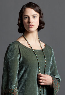 Lady Sybil Branson (nee Crawley) - played by Jessica Brown Findlay