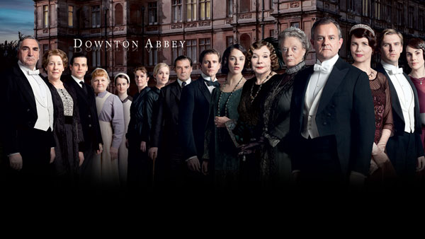 Downton Abbey Season 3 Cast with Title