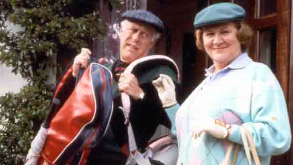Keeping Up Appearances: Clive Swift as Richard Bucket and Patricia Routledge as Hyacinth Bucket