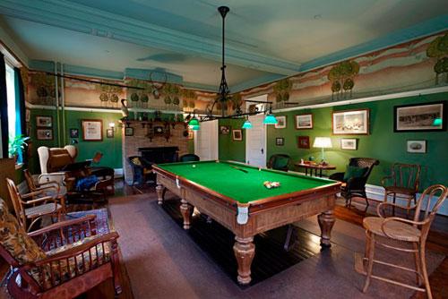 Spadina Museum: Billiards Room - Photo: Maciek Lindwski, Courtesy City of Toronto