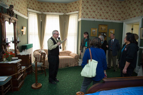 Spadina Museum: Contest winners get a guided preview of the Downton Abbey Tour  Photo: Courtesy City of Toronto