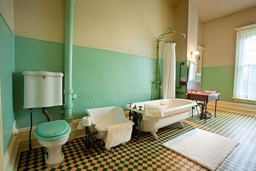 Spadina Museum: Bathroom Photo: Courtesy City of Toronto