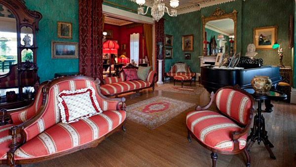 Spadina Museum - drawing room with reception room beyond Photo: Maciek Lindwski, Courtesy City of Toronto
