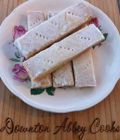 This Week's Downton Dish: Classic Never Fail Shortbread by Pamela Foster, DowntonAbbeyCooks.com
