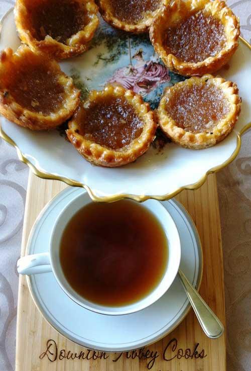 The Weekly Downton Dish: Treacle Tarts by Pamela Foster, DowntonAbbeyCooks.com