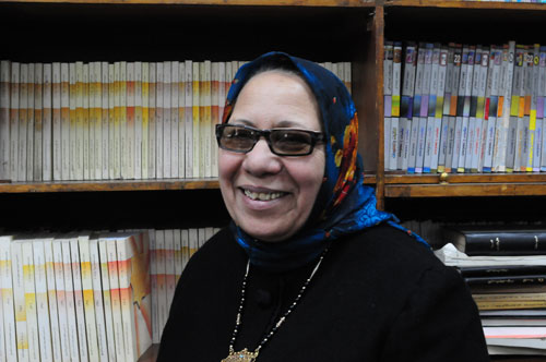 Jew Bashing - Middle East: Prof Laila Ibrahim Abu Almagd. - Professor Jewish Studies Ein Champs University Cairo Egypt  - believes in Jewish Black Magic