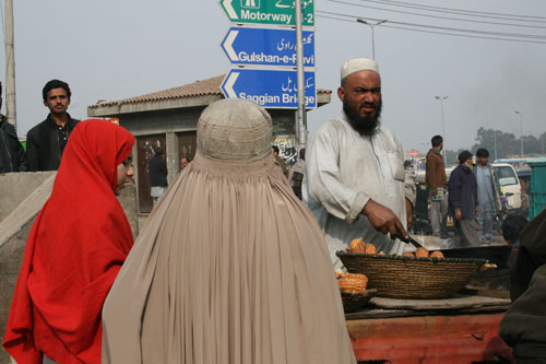 Jew Bashing - Middle East: Street scene - Lahore, Pakistan