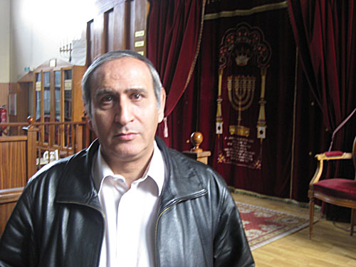 Jew Bashing - Europe: Alain Ben Simon, President of Parisian Synagogue which is constantly attacked