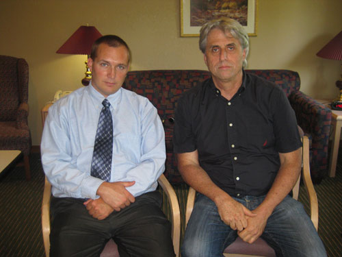 Jew Bashing - USA: Martin Himel with Mike Delaney, webmaster of Jews behind 9-11 website, ProThink.org